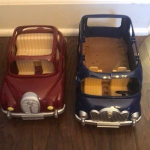 Calico Critter cars. Gently used condition.